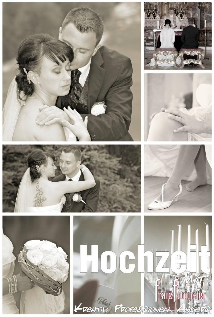 Hochzeit - Hochzeitsreportage und Portraits - Hochzeitsfoto in Füssen mit Franz Fotografer