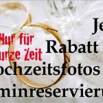 Hochzeit 2017 – Terminreservierung für Hochzeitsfotos