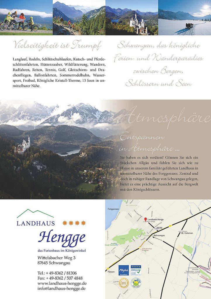 Foto und Grafik für Landhaus Hengge