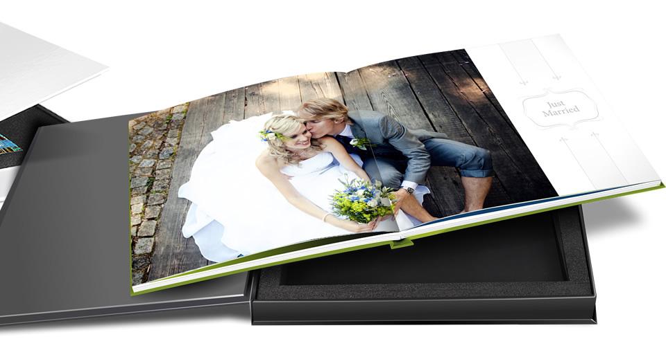 Premium Fotobuch mit Geschenkbox