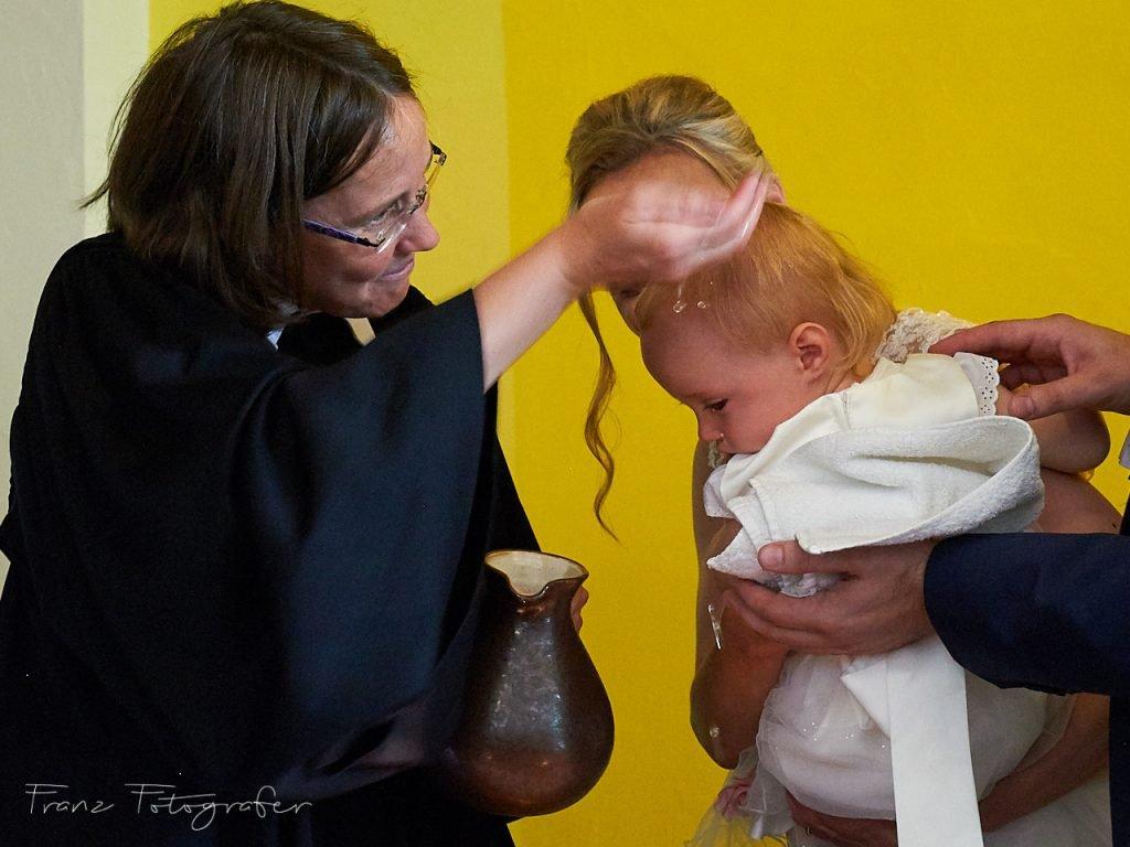 Taufe von Victoria