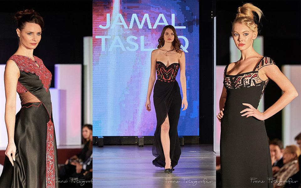 Jamal Taslaq Couture, Roma, Budapest Fashion Week, 2016