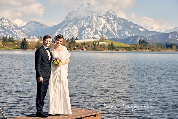 Hochzeit in Hopfen am See