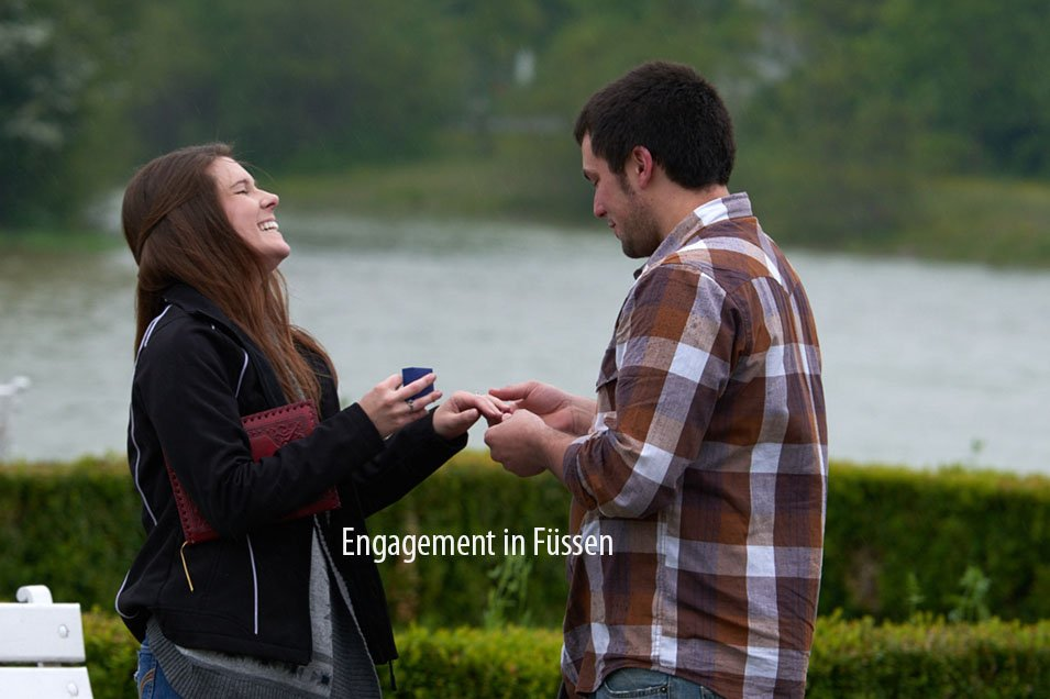 Engagement in Füssen