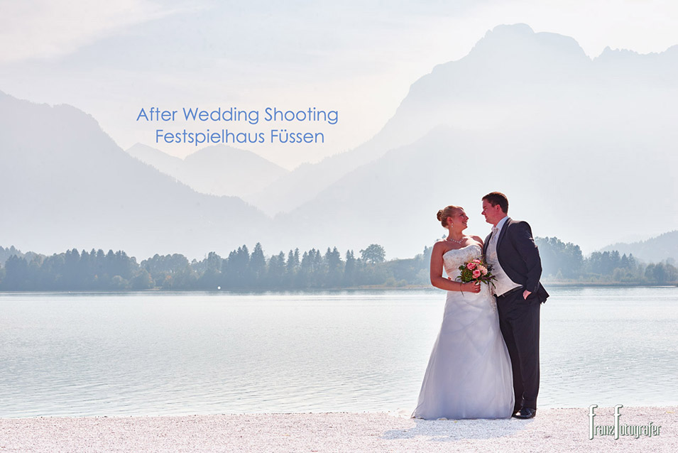 After Wedding Shooting - Festspielhaus Füssen