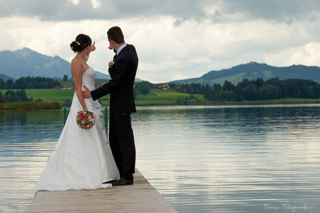 Hochzeitsfotografie im Königswinkel