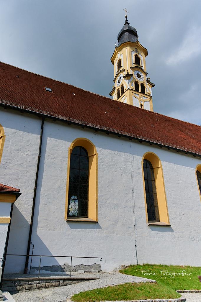 KatholischeKirche St. Nikolaus, Pfronten im Allgäu