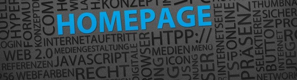 Wordpress Hompages